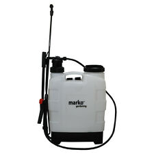 20L KNAPSACK PRESSURE SPRAYER WEED KILLER CHEMICALS FERTILISERS WATER BACKPACK