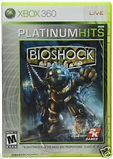 Bioshock Xbox 360 FPS Shooter US Version Brand New Factory Sealed