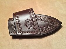 Custom Leather Crossdraw Sheath for BUCK Mini Alpha Hunter Knife