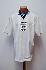 ENGLAND NATIONAL TEAM 1995/1996/1997 EURO HOME FOOTBALL SHIRT JERSEY UMBRO