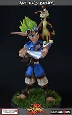 Gaming Heads JAK and DAXTER 1/6 Pre-painted Coldcast Statue figure Limited