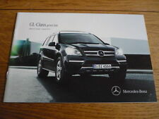 MERCEDES BENZ GL CLASS  PRICE LIST SALES BROCHURE APRIL 2011