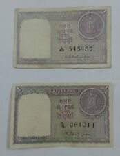 1 rs 1951 K.G.Ambegaonkar sign Extreme rare note