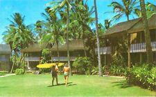 Postcard HI Hawaii Kauai Koloa Waiohai Poipu Beach Pre-Iniki 1967