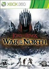 NEW/SEALED LORD OF THE RINGS WAR IN THE NORTH XBOX 360 VIDEO GAME