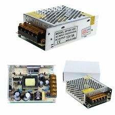 12V 5A Universal AC/DC Converter Reliable Switching Regulated LED Power Supply