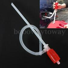 Hand Manual Siphon Syphon Oil Water Petrol Diesel Fuel Liquid Transfer Pump Pipe