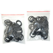 100Pcs/bag Tattoo Machine Lose Shock Tatto Supplies Elastic Rubber O Ring Black
