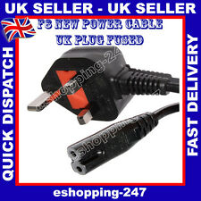 NEW Power Cable for Sony PS1/ PS2/ PS2 SLIM/PS3 SLIM/F8 UK PLUG L017