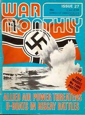 WAR MONTHLY 27 WW2 BIG GUN DUEL / BISCAY BAY / OP DRAGOON / PASSCHENDAELE / MERR