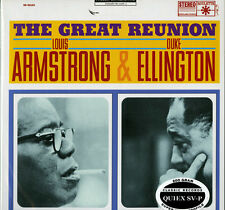 SR 52103 Louis Armstrong & Duke Ellington - THE GREAT REUNION - 200g LP - SEALED