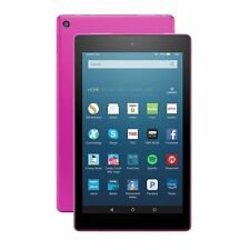 "Amazon Kindle Fire HD 8 8"" 32GB Wi-Fi Tablet - Magenta (6 Gen)2016 Latest Model"