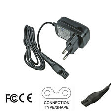 15V EU Charger Adapter for Philips Shaver QT4090 QC5115 QC5120 QC5125