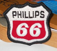 "PHILLIPS 66 WOVEN  SEW ON FABRIC  2"" WIDE 2-1/4"" TALL  NEW/OLD STOCK"