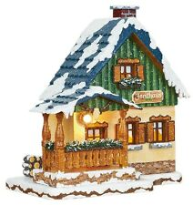 Hubrig artesanía popular, invierno casa Forsthaus, wiki, miniatura Erzgebirge, 400h0007