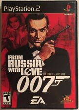 From Russia With Love 007 (Sony PlayStation 2, 2005) PS2 Black Label Complete