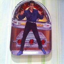 Elvis Presley Porcelain plate Blue Suede Shoes in The Juke Box Elvis Collection
