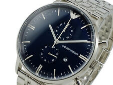BRAND NEW EMPORIO ARMANI CHRONOGRAPH STAINLESS STEEL MEN WATCH AR1648