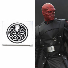 Captain America The First Avenger Red Skull Hydra Belt Buckle Cintura Fibbia