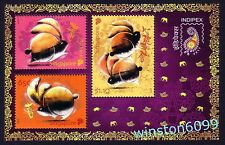 Singapore 2011 Zodiac Year of the Rabbit - India Indipex Stamps Expo M/S