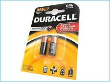 BATTERIE DURACELL MN21 2 STK. ALKALINA SECURITY 12V FERNBEDIENUNG ANTI-DIEBSTAHL