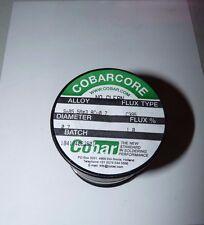 NEW COBAR COBARCORE SOLDER TIN/SILVER/COPPER 0.7MM DIAMETER C395 FLUX