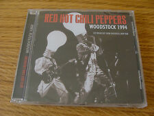 CD Album: Red Hot Chili Peppers : Live Woodstock New York 1994 : Sealed