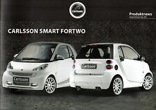Carlsson Smart ForTwo Accessories 2010-11 German Market Sales Brochure