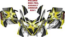 POLARIS RMK PRO, ASSAULT  DECAL WRAP KIT 05-15 ARMOUR RSV1
