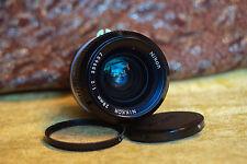 Nikon Nikkor 28mm / f/2.0 fast wide lens