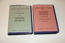 A Father's Story and Interview by Andre Dubas Very Rare Audiobook Cassette