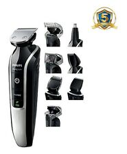 PHILIPS da uomo 9-in - 1 Multi Toelettatura Kit Naso Capelli Trimmer Clipper BARBA qg3362