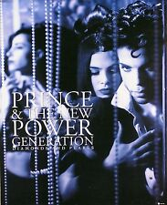 PRINCE & New Power Generation 1991 Diamonds & Pearls Poster - Original