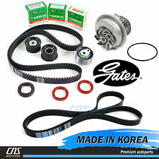Gates HTD Timing Belt Kit & V-Belt w/ Water Pump 04-08 Suzuki Forenza Reno 2.0L