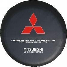 """New Mitsubishi 16"""" SPARE WHEEL TIRE COVER DIY UNIVERSAL Size 30-31"""""""