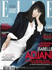 ELLE N°3673 13/05/2016 ADJANI/ BINOCHE/ AZOULAY/ PARFUMS/ VOYAGES FOOD/ BLACKS