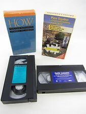 VHS - How You Can Introduce Others to Christ BILL BRIGHT & Video Sampler
