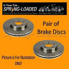 Front Brake Discs for Volkswagen Polo Mk1/2/3 1.3 - Year 10/1981-8/94