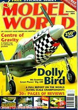 RC MODEL WORLD Magazine November 2004 - Dolly Bird ARFT Mustang Feature