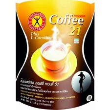 Slimming Instant Coffee Drink NatureGift 21 L-Carnitine Weight Loss Appetite New