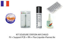 KIT SOUDURE STATION AIR CHAUD BK 601D 702B ...