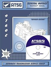 ATSG GM 4T60E Transaxle Training DVD Video & Rebuild Overhaul Manual COMBO PACK