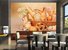 Fresh Bakery Wall Mural Photo Wallpaper GIANT WALL DECOR PAPER POSTER FREE GLUE