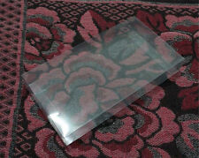 LOT OF 10 CLEAR PROTECTION CASES FOR GAME&WATCH G+W WIDE & NEW WIDE SCREEN BOXED