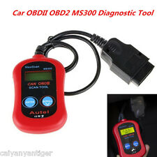 ELM327 MS300 OBDII OBD2 Car Diagnostic Scanner Tool CAN Fault Code Scan Decoder