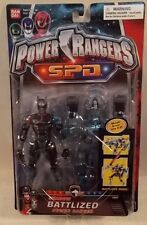 Power Rangers SPD Battlized Shadow Ranger With K-9 Armor MOC Bandai S.P.D. RARE!