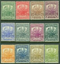 NEWFOUNDLAND : 1919. Scott #115-26 Animals. Very Fine, Mint OGH. Catalog $272.00