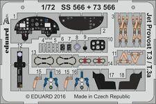 Eduard 1/72 JET PROVOST t.3/t.3a Etch per Airfix # ss566