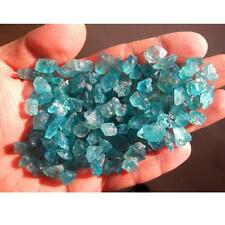 100g 700-900pcs Natural Dark blue apatite Stones Reiki Rough Mineral Specimen
