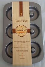 HIC Mrs. Anderson's Baking Non-Stick Donut Pan, 6-Cup